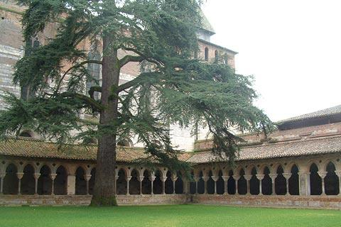 Cloisters in Moissac Abbey