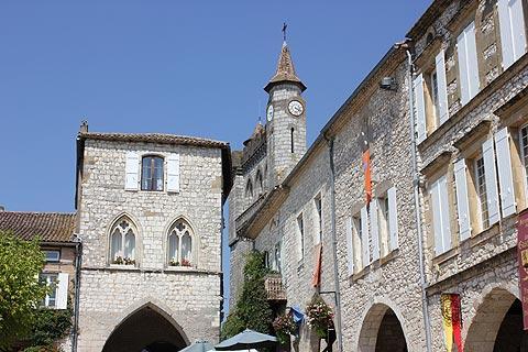 Maison du Prince Noir à Monflanquin