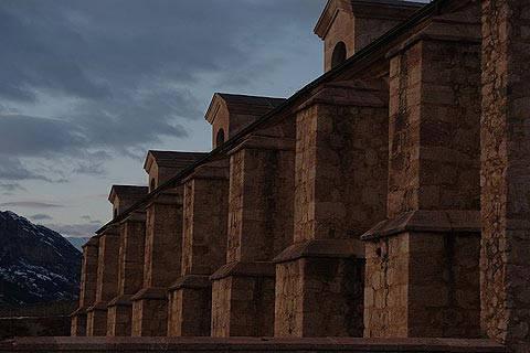 Bâtiment fortifié à Mont-Dauphin