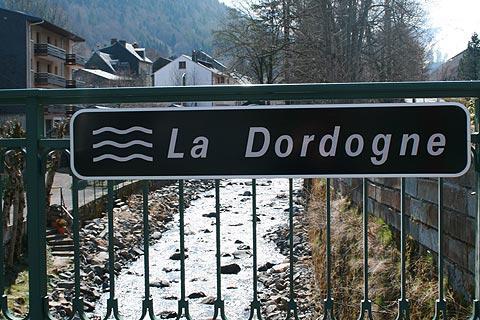 La Dordogne à Mont-Doré