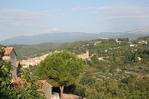 View across Provence