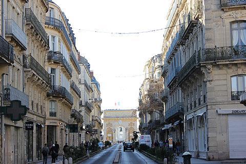 Arc de Triomphe, Montpellier, Languedoc