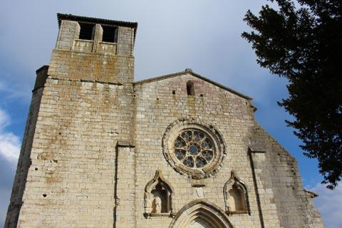 Collegiale church in Montpezat-de-Quercy