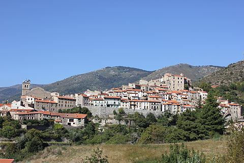 village view of Mosset