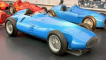 Bugatti voiture en musée de Mulhouse
