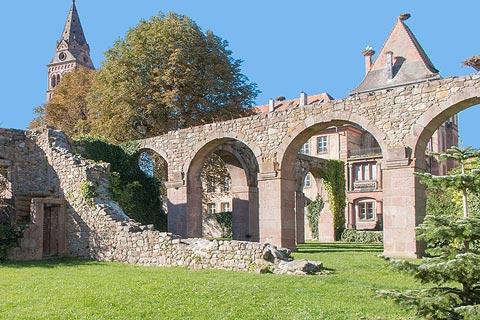 Ruines de l'abbaye de Munster