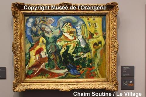 arte moderne du Musée de l'Orangerie