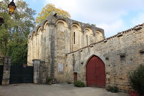 l'abbaye de Nanteuil