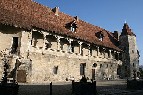 Chateau Henry IV in Nerac