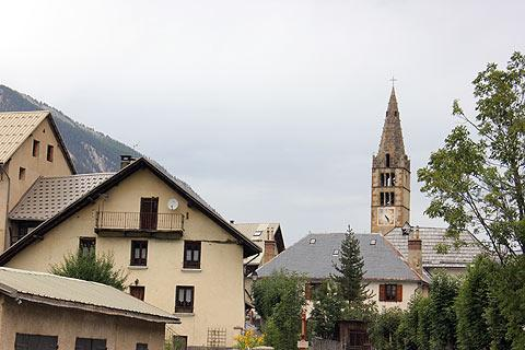 Nevache village