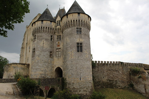 Tower of Chateau Saint-Jean in Nogent-le-Rotrou