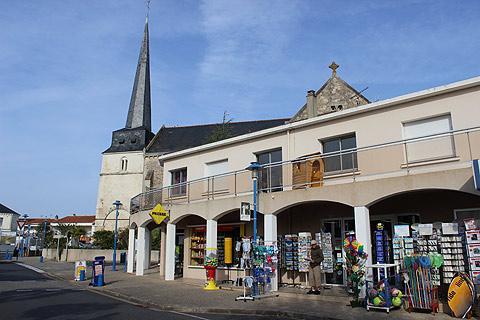 Centre ville de Notre-Dame-de-Monts
