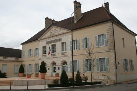 Town Hall in Nuits-Saint-Georges