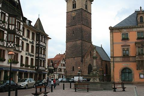 Place du Marche in Obernai