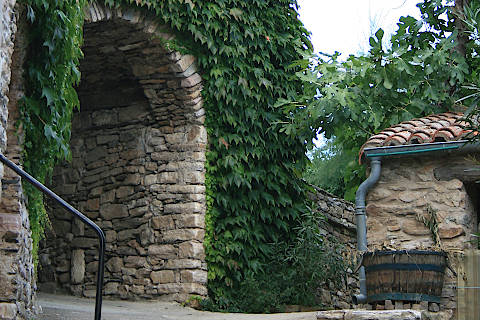Historic entrance to village