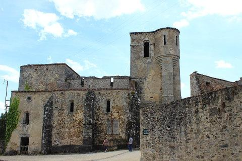 Oradour sur Glane church