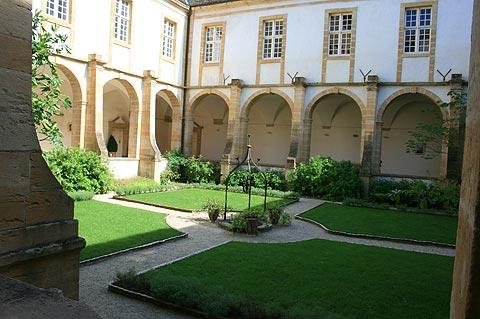 Cloisters in the Basilica of Paray la Monial, Burgundy