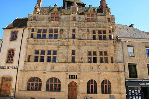 Town Hall in Paray la Monial, Burgundy
