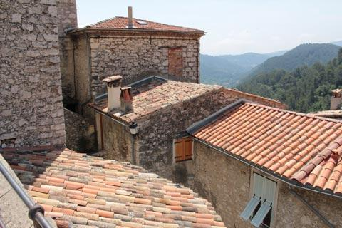 Rooftops and ancient stone houses