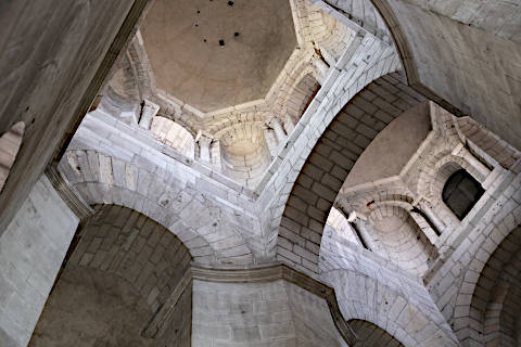 Le plafond de la nef de la cathédrale de Périgueux