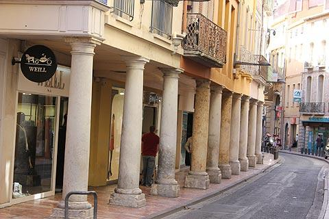 Rue des Marchands à Perpignan