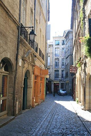 street in historic centre of Pézenas