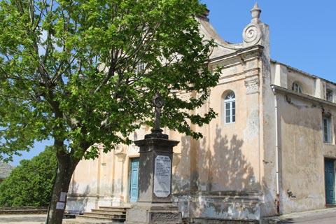 église baroque de Pino