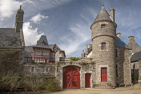 Pontivy castle, Brittany