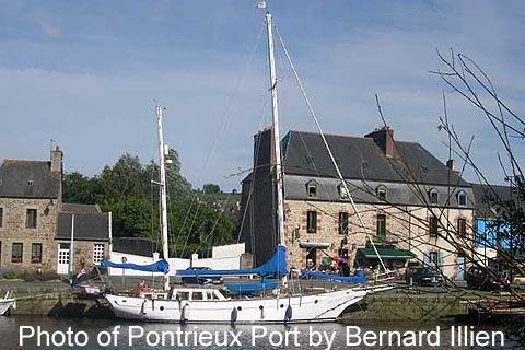 Port in Pontrieux