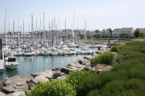 Harbour full of boats at Port de Crouesty