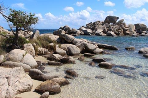Beach at Tamaricciu