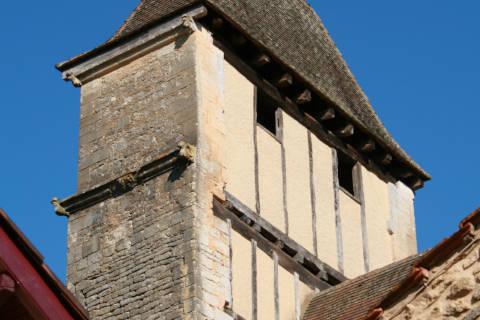 Beffroi de l'église de Prats-du-Périgord