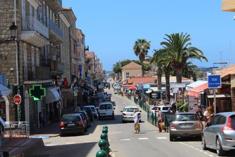 Rue principale de Propriano