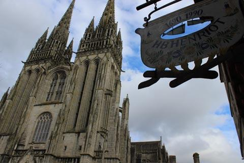 Quimper France travel and tourism attractions and sightseeing and
