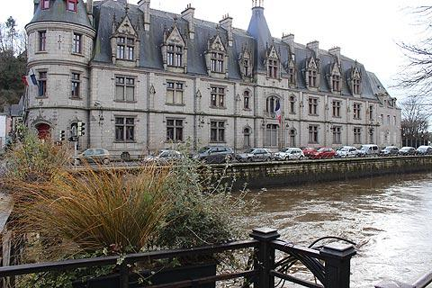 Hotel de Prefecture in Quimper