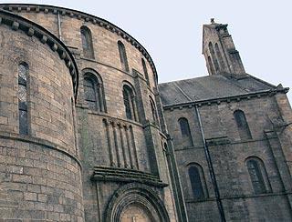 Exterieor de l'abbaye