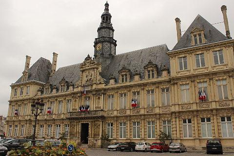 Town Hall in Reims