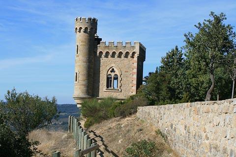 tour du château de Rennes-le-Chateau