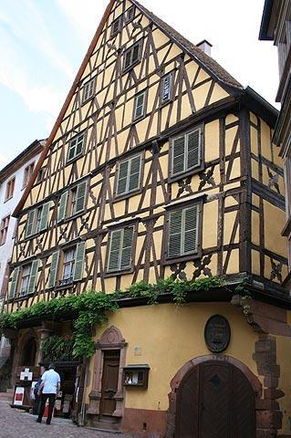 Riquewihr достопримечательности и маршрут, Эльзас, Франция