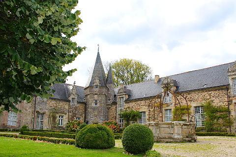 beau chateau de Rochefort-en-Terre