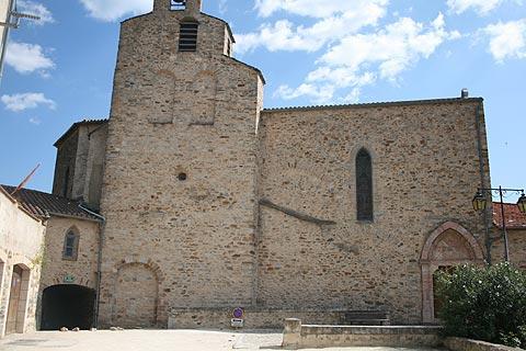 église du village de Roquebrun