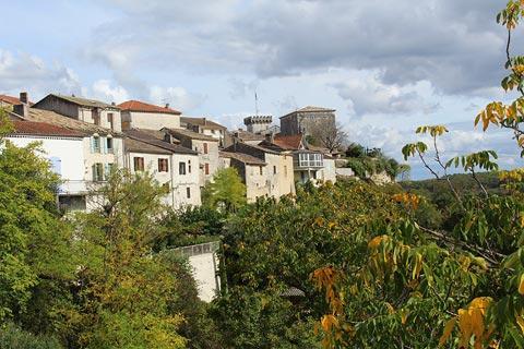Vue sur la campagne du Tarn-et-Garonne de Roquecor
