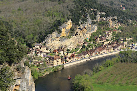 View of La Roque-Gageac