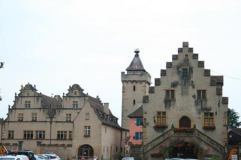 Corn exchange in Rouffach
