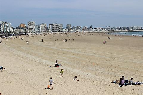 Sables d'Olonne beach, Vendee