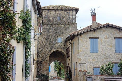 ancient entrance to historic village