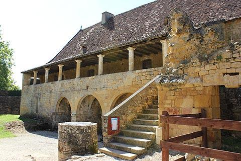 One of the outbuildings of the Abbey of Saint-Avit-Senieur