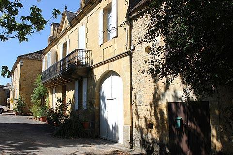 Le centre du village de Saint-Avit-Senieur