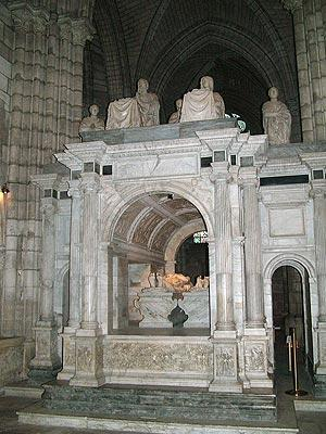 tomb in the Basilica of Saint-Denis