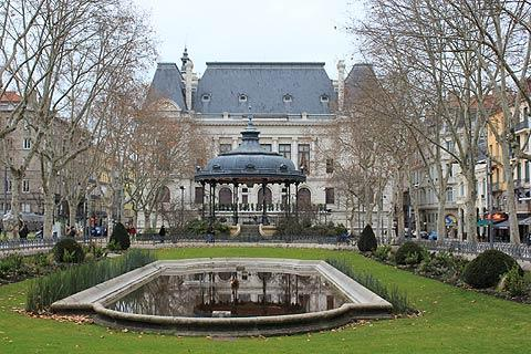 An important square in Saint-Etienne